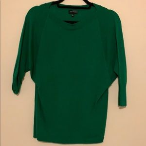 Kelly green dolman top